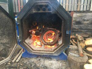 Log Kiln drier
